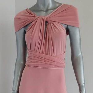 Multi way long dress